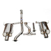 Invidia Q300 Cat Back Exhaust - 08-10 WRX Sedan