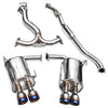 Invidia Q300 Cat Back Exhaust - 11-14 WRX/STI Sedan