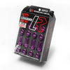 Project Kics Leggdura Racing Lug Nut Purple M12x1.25 - Universal