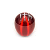 Raceseng Slammer Red Translucent Shift Knob w/ Engraving - 04-20 STI / 15-20 WRX