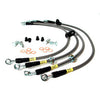 StopTech Slotted Sport Brake Package - 15-17 STI