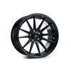 Cosmis Racing R1 18x9.5 5x114.3 +35 Black Wheel - Universal