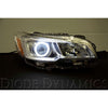 Diode Dynamics HD LED Switchback Halo Rings - 15-17 WRX/STI