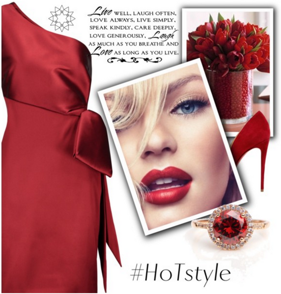 Polyvore Valentines Day contest by House of Treasure
