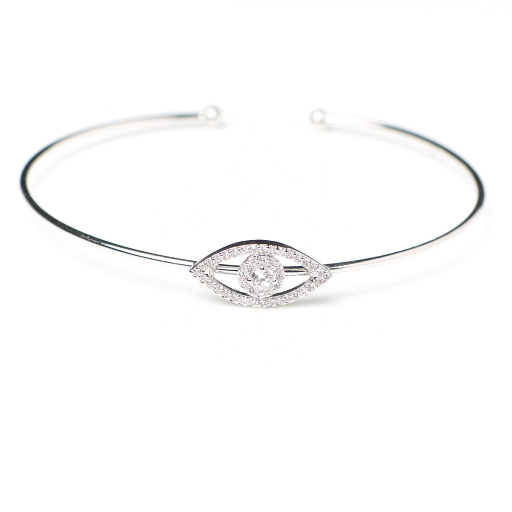 Minerva - Platinum plated bracelet with zirconium crystals 1