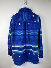 Blue vintage shirt jacket