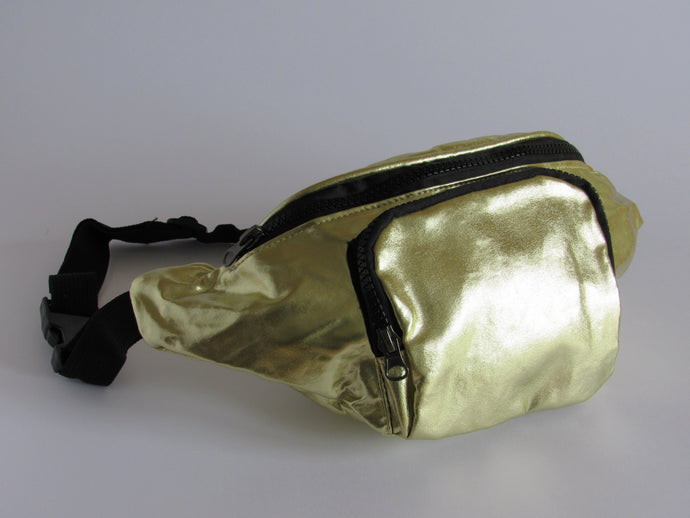 Metallic Gold Bumbag