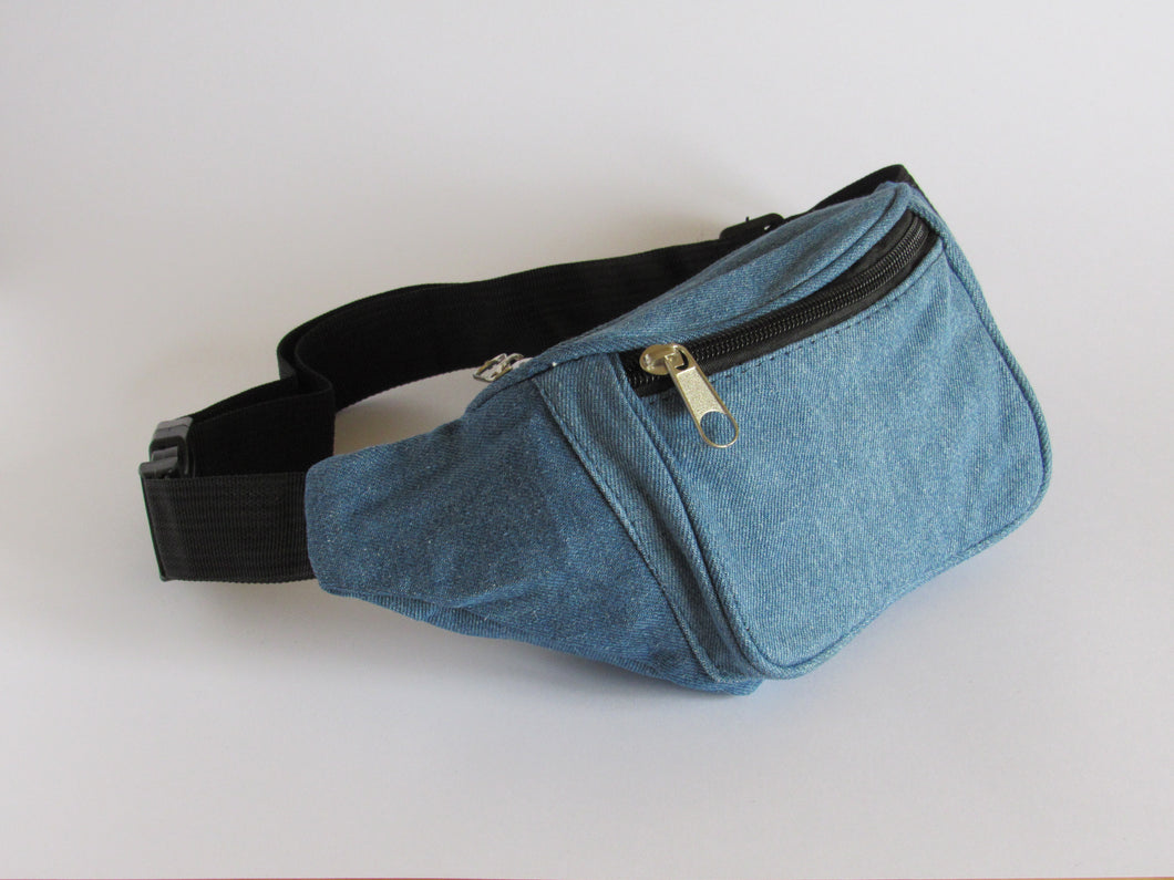 Denim bumbag
