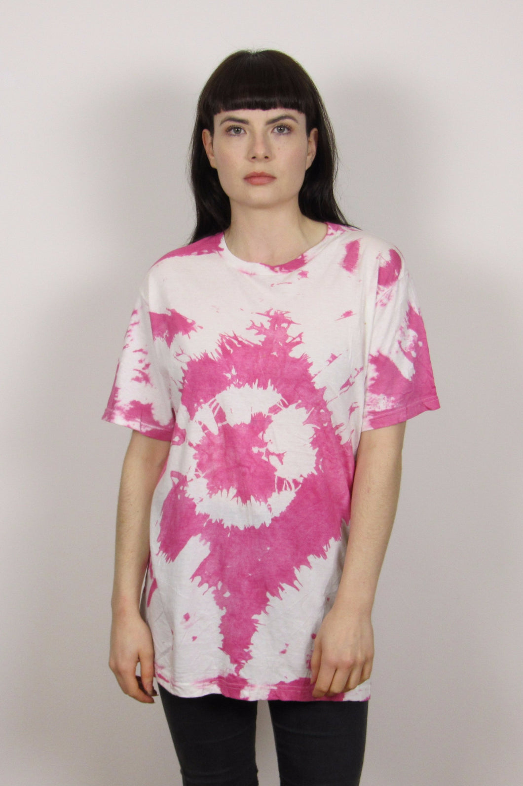 Hot Pink TieDye T-Shirt