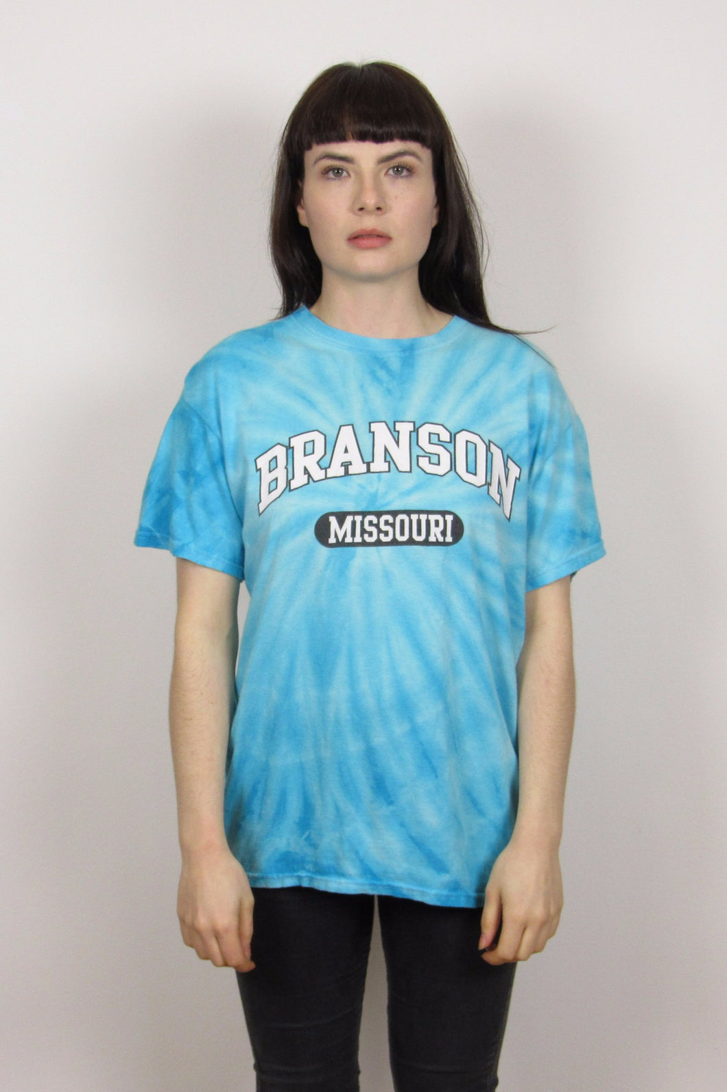 Turquoise Tie Dye T-Shirt