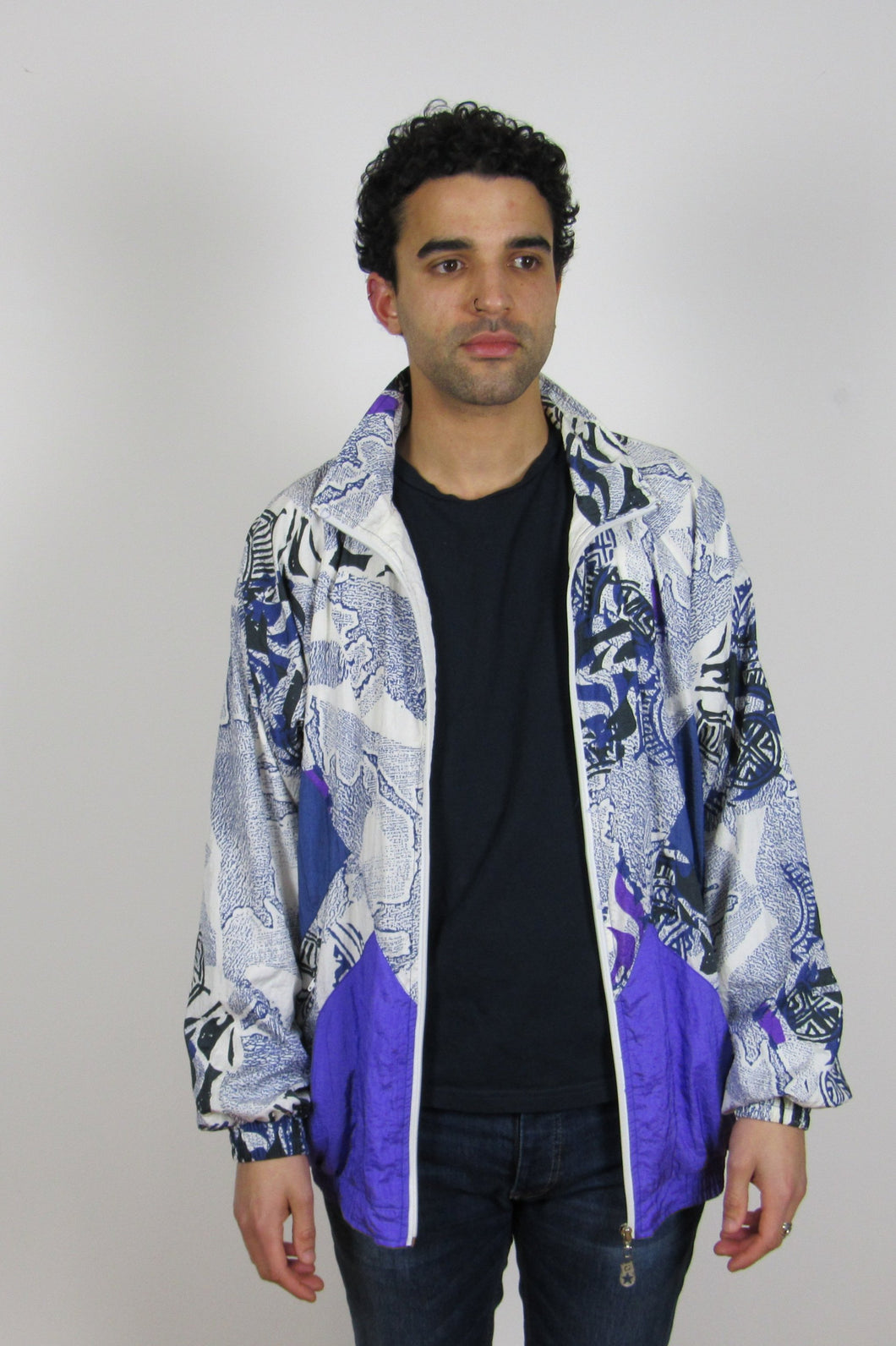 Printed Shell Jacket