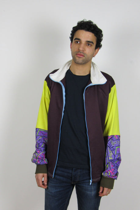 Multi Colour Zip Jacket