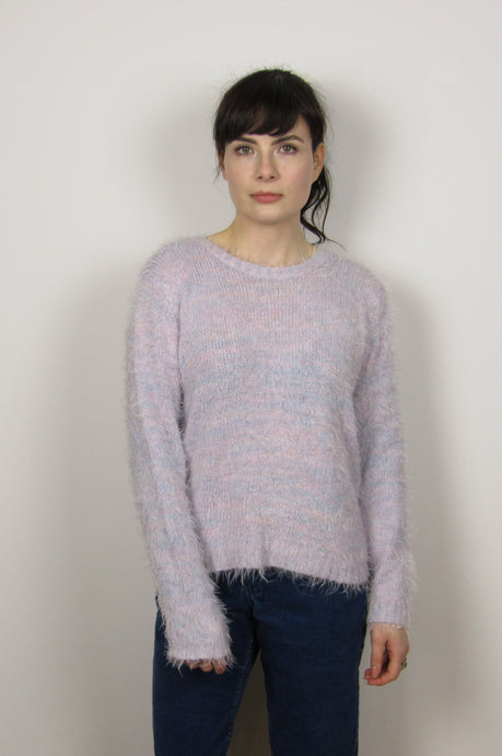 Lilac Fluffy Sweater
