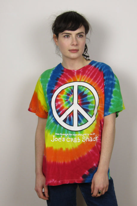 Peace Sign TieDye T-Shirt