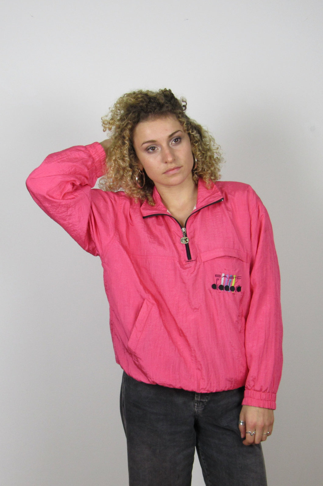 Pink Diadora Shell Jacket