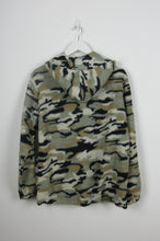 Camouflage Zip Up Fleece