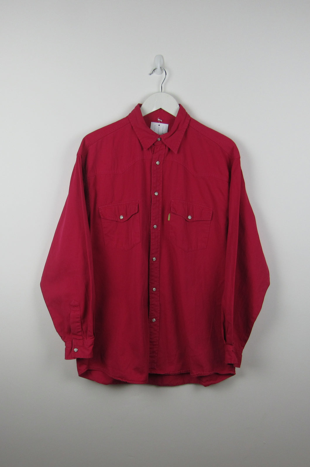Red Denim Shirt