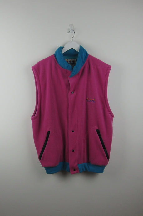 Sleeveless Vintage fleece