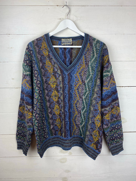 80's Patterned Knit
