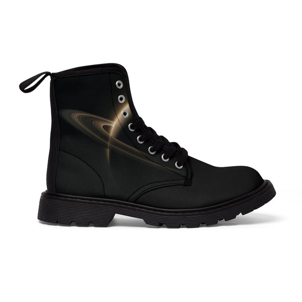 "DATA-X ""SATURN"" Canvas Boot"