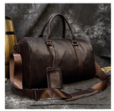 "HOMBRE-X ""Austin"" Premium Soft Leather Handbag"