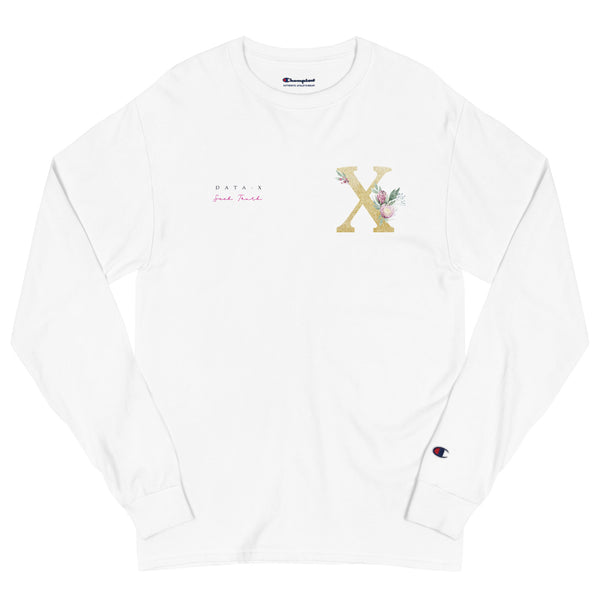 "DATA-X ""Seek Truth"" Champion Long Sleeve Shirt"