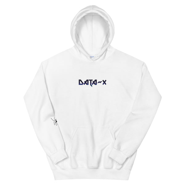 "DATA-X ""Snow Panther"" White Hoodie"