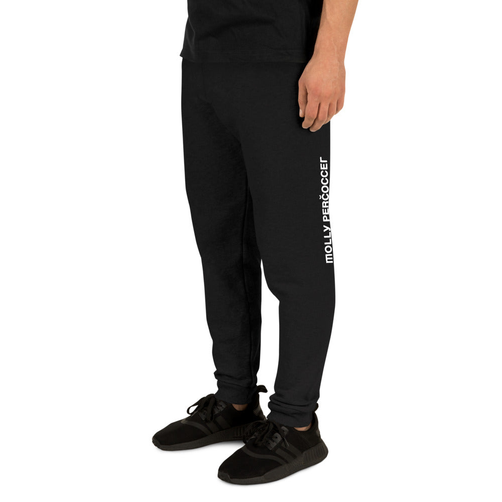 """FROM RUSSIA"" Black Unisex Joggers"