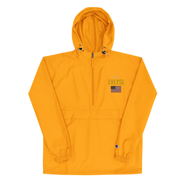 LVLYSL Embroidered Champion Packable Jacket
