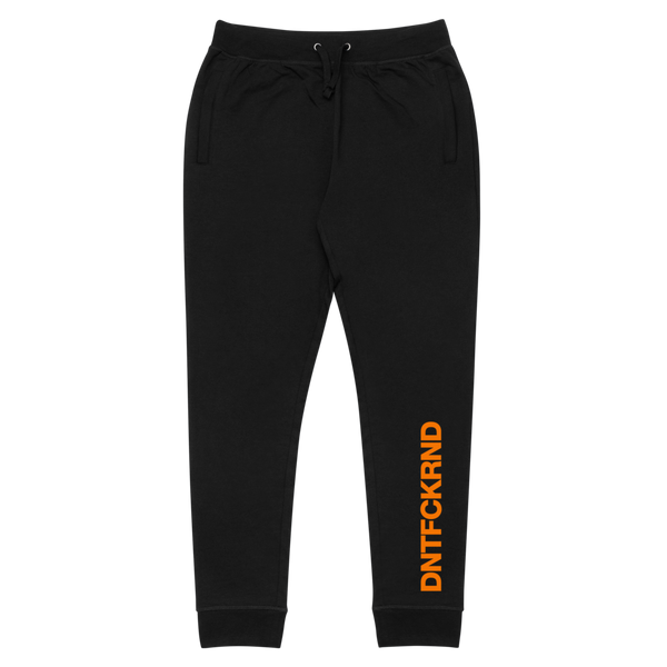 "DFR ""Orange Signal"" Black Joggers"