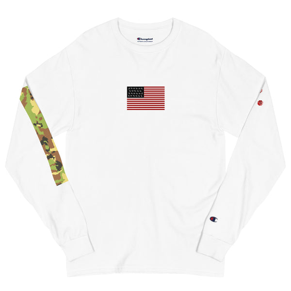 "LVLYSL ""USA"" Men's Champion Long Sleeve Shirt"