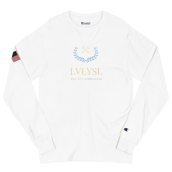 "LVLYSL Men's ""Varsity"" Champion Long Sleeve Shirt"