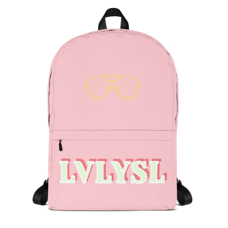 "LVLYSL ""Pink Cream"" Backpack"