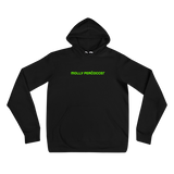 """FROM RUSSIA"" Black Neon Hoodie"