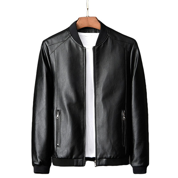 """Essential"" Leather Jacket from HOMBRE-X"