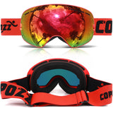 DATA-X HD Ski Goggle ( UV400 Anti-Fog)