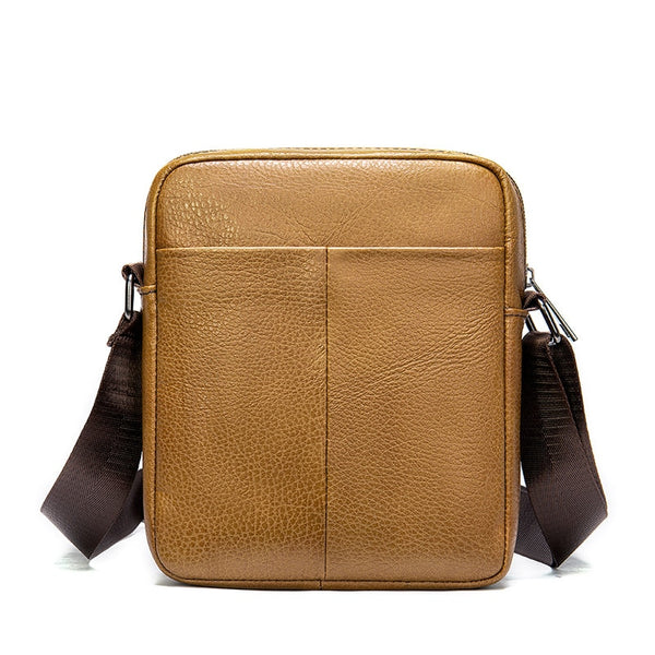 HOMBRE-X Genuine Leather Cross Body Messenger