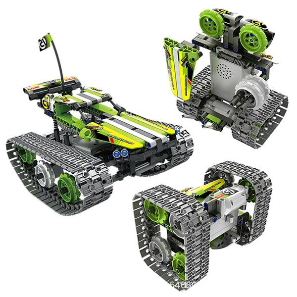 "DATA-X 3 ""Terrain Racer"" RC Transform Bot"