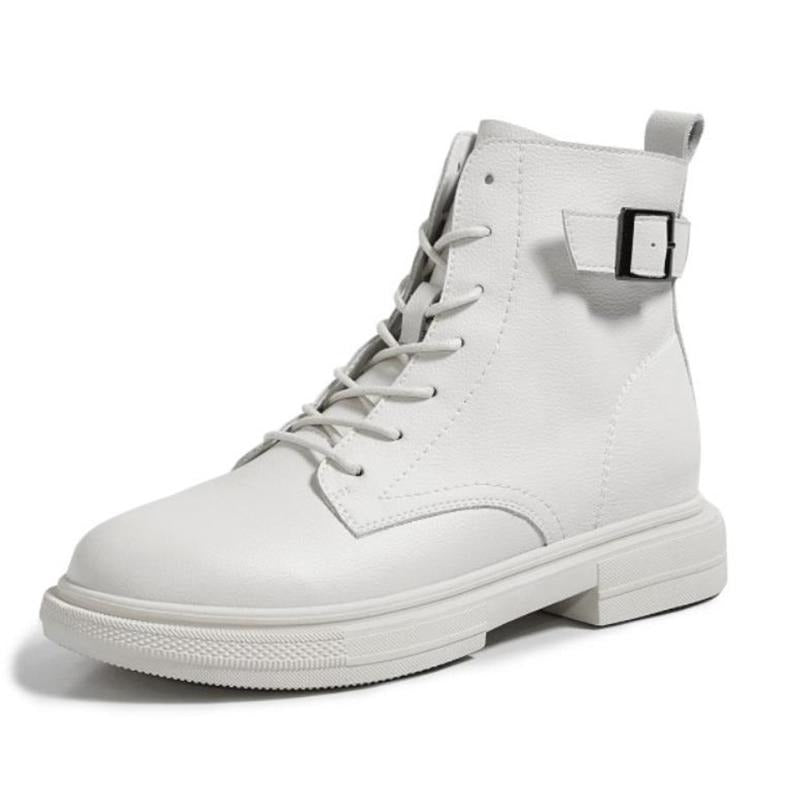 "DATA-X Genuine Leather Women's ""White Boot"""