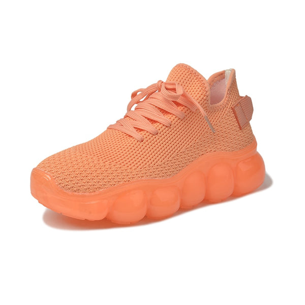 "DATA-X Women's ""Creamsicle"" Mesh Runners"