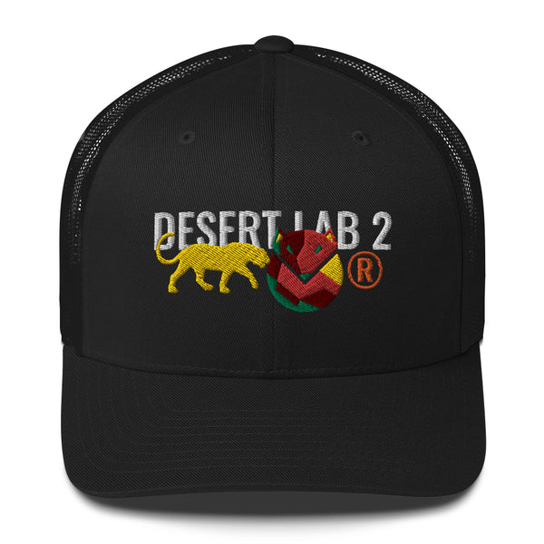 "Desert Lab 2 ""Arizona Cat"" Capsule Trucker"