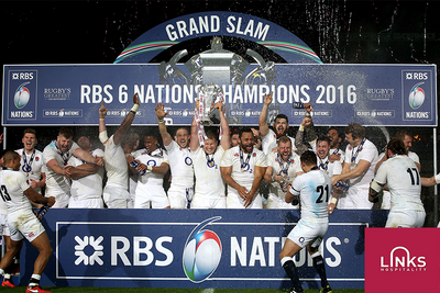 England Set for Successive Grand Slam Titles