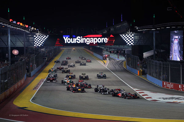 SINGAPORE F1 GRAND PRIX – SINGAPORE - Friday 18 to Sunday 19 September 2020