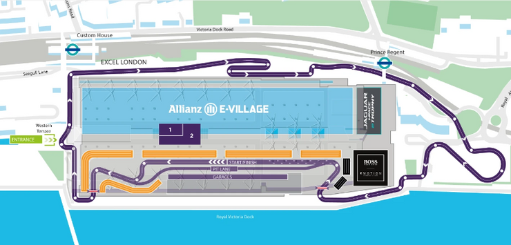 E - Prix - London - Saturday 25th - Sunday 26th July 2020