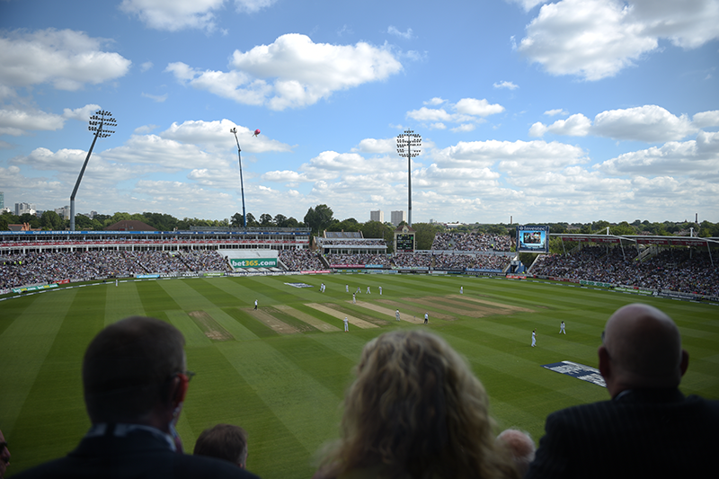 Edgbaston - England V India - Wed 1th - Sat 4th Aug 2018