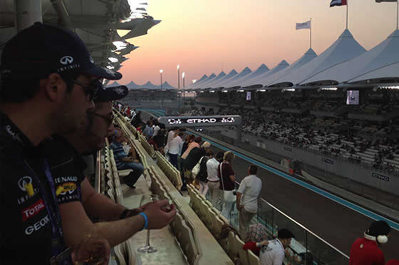 ABU DHABI F1 GRAND PRIX – YAS ISLAND - Friday 27 to Sunday 29 November 2020