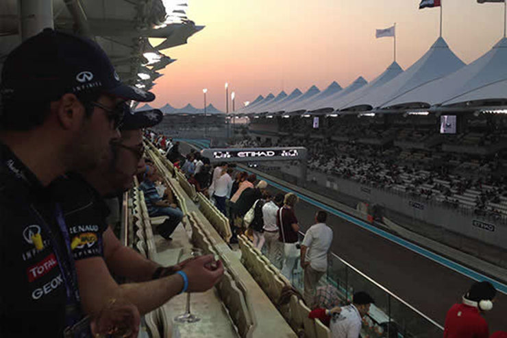 Abu Dahbi F1 Grand Prix– Yas Island - Friday 27 to Sunday 29 November 2020