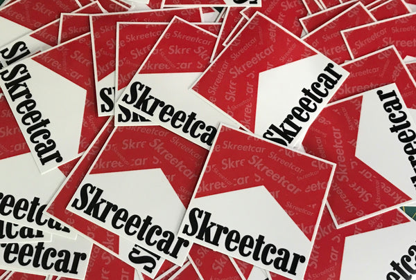"Skreetcar ""Smokem if you gottem!"" Sticker Pack"