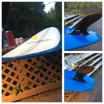 "Tyler Surfbaords ""Craftsman"" Edition Zeke Model 10' 3,1/4 $1400 great condition"