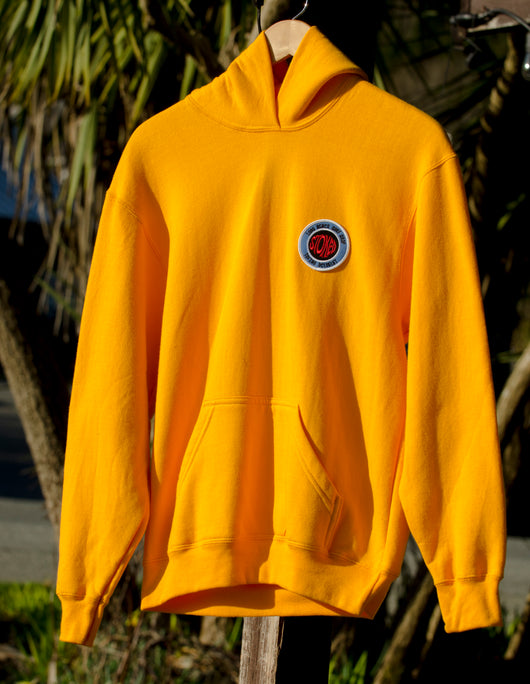 LBSS Stoked Santosha Youth Hoodie Yellow